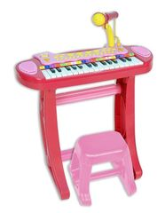 BONTEMPI - Detské elektronické piano so stoličkou a mikrofónom 133671