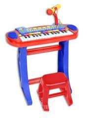 BONTEMPI - Detské elektronické piano so stoličkou a mikrofónom 133240