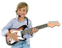 BONTEMPI - Elektrická rocková gitara s mikrofónom 241310