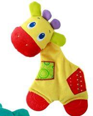 BRIGHT STARTS - Hračka - hryzačka Sunggle & Teethe 0m+ Žirafa