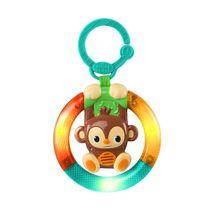 BRIGHT STARTS - Hračka hudobná, svietiaca na C krúžku Shake&Glow opička 3m+