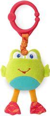 BRIGHT STARTS - Hračka plyšová na C krúžku Take´n Shake-vibruje, 0m Žaba