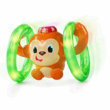 BRIGHT STARTS - Hračka svietiaca hudobná opička LLB Roll & Glow™ 6-36m