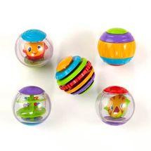 BRIGHT STARTS - Hračka Shake & Spin Activity Balls,3m+