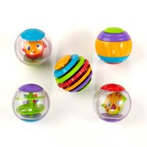 BRIGHT STARTS - Hračka Shake & Spin Activity Balls,3m+