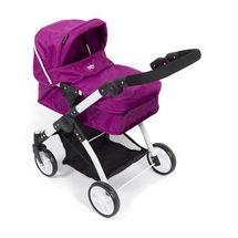 BRITAX - Kočík pre bábiky Smile 3 v 1, 2015, fialová