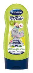 BÜBCHEN - Kids šampón a sprchovací gél 2v1 Partička z džungle 230ml