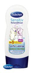 BÜBCHEN - Kids šampón a sprchovací gél 2v1 sensitiv Jemný miláčik 230ml