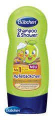 BÜBCHEN - Kids šampón a sprchovací gél 2v1 Zelené jabĺčko 230ml