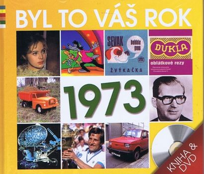 Byl to váš rok 1973 - DVD+kniha