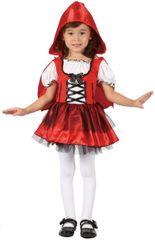 CASALLIA - Karnevalový kostým Červená čiapočka s kapuckou