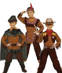 CASALLIA - Karnevalový kostým Filmový hrdina 3v1: S