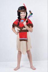 CASALLIA - Karnevalový kostým Indiánka bez návlekov S