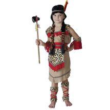 CASALLIA - Karnevalový kostým Indiánka s návlekmi M
