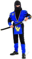 CASALLIA - Karnevalový kostým Ninja modrý L