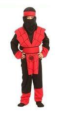 CASALLIA - Karnevalový kostým Ninja pavúk