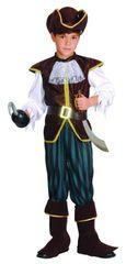CASALLIA - Karnevalový kostým Pirátsky kapitán