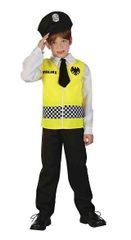 CASALLIA - Karnevalový kostým Policajt - M