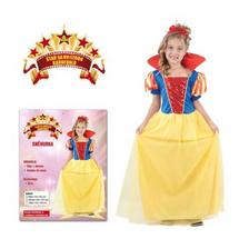 CASALLIA - Karnevalový kostým Snehulienka (veľkosť S)