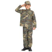 CASALLIA - Karnevalový kostým Vojak s čiapkou S