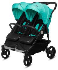 CASUALPLAY - Playxtrem športový kočík pre dvojičky a súrodencov Baby Twin 2019 - Jade (Green)