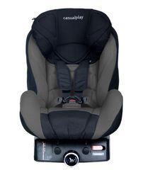 CASUALPLAY - Autosedačka Q-Retraktor Fix 9-18 kg (2014) - Grey black