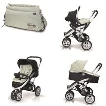 CASUALPLAY - Kočík S4, autosedačka Baby 0plus, vanička Newmoon a Bag (2014)