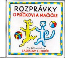 CD - Rozprávky o Psíčkovi a Mačičke -