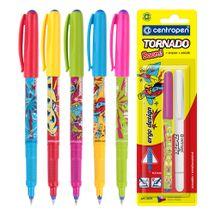 CENTROPEN - Pero guľôčkové 2675/2 Tornado Blue + zmizík