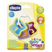 CHICCO - Hryzátko kľúče na krúžku