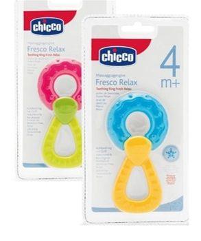CHICCO - Hryzátko krúžok