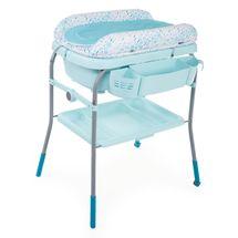 CHICCO - Prebaľovací stolík s vaničkou Cuddle & Bubble - Dusty Green