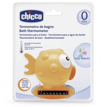 CHICCO - Teplomer do vody rybka - oranzova