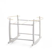 CHILDHOME - Hojdací stojan pre košík na bábätko Grey