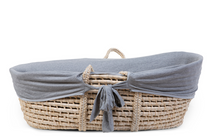 CHILDHOME - Poťah do košíka na bábätko Jersey Grey