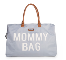 CHILDHOME - Prebaľovacia taška Mommy Bag Big Grey Off White