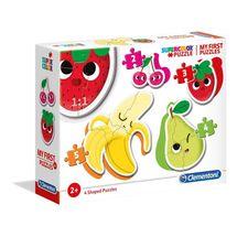 CLEMENTONI - Moje prvé puzzle Ovocie