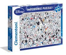 CLEMENTONI - Puzzle 1000 101 Dalmatincov