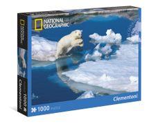 CLEMENTONI - Puzzle 1000 Ľadový medveď