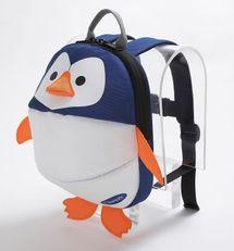 CLIPPASAFE - Detský batoh s odnímateľným vodítkom, Penguin