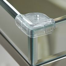 CLIPPASAFE - Plastová ochrana sklenených rohov