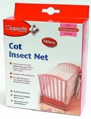 CLIPPASAFE - Sieťka proti hmyzu na postieľku