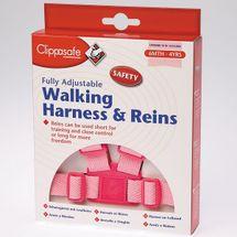 CLIPPASAFE - Vodidlo pre dieťa - Ružové