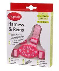 CLIPPASAFE - Vodítko pre dieťa, ružové