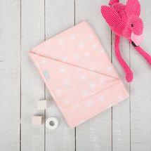 CUDDLECO - Jarná / letná deka, Sugar Plum Pink