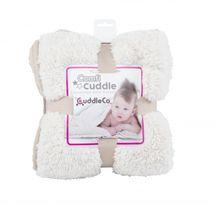 CUDDLEME - CUDDLECO Super mäkká obojstranná detská deka, Mink