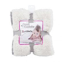 CUDDLEME - CUDDLECO Super mäkká obojstranná detská deka, Pebble