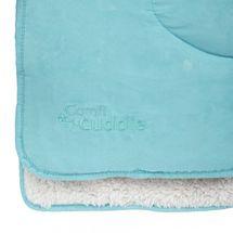 CUDDLEME - Super mäkká obojstranná detská deka 140 x 100 cm, Tiffany Blue
