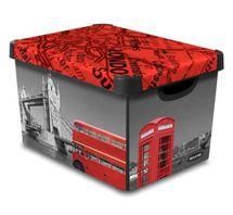 CURVER - Dekoratívny úložný box - L - London