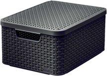 CURVER - Úložný box s vekom STYLE M, hnedý
